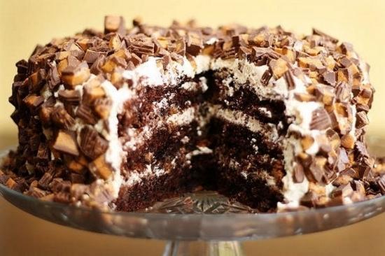 торт воздушный сникерс рецепт приготовления
