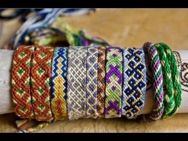 Кумихимо: фото браслеты