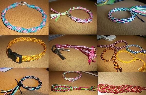 Кумихимо: браслеты