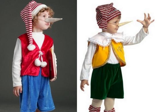 Как самостоятельно сделать костюм Буратино?