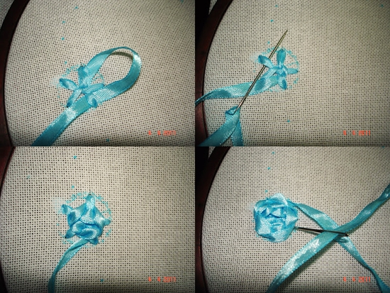 Вышивка лентами: рукоделие