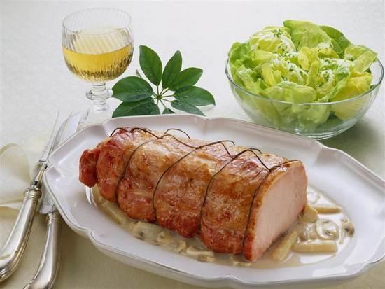 карбонат свиной в духовке рецепты с горчицей