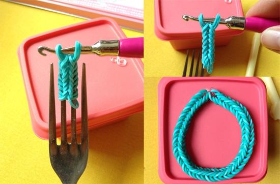 Плетение браслетов из резиночек: видео и инструкция