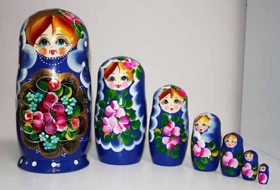 Традиции в росписи матрешки: от древности до современности