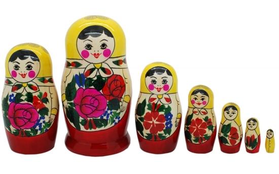 «Семеновская» роспись матрешки