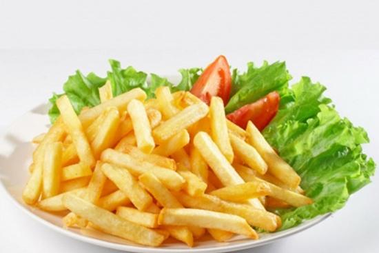 Картошка фри в духовке с белком