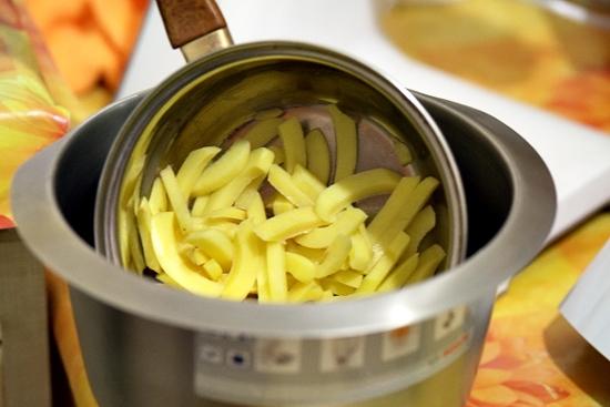 Картошка фри в духовке: рецепт с фото