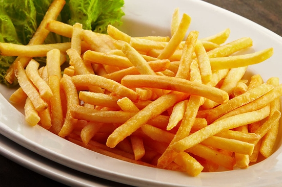 Картошка фри в духовке без масла