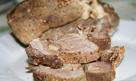 буженина из говядины в фольге в духовке рецепт