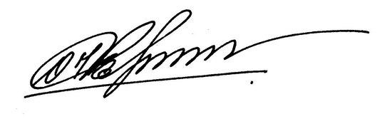Как придумать подпись в паспорт и иные документы?