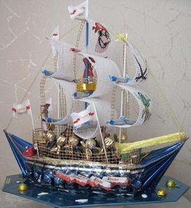 конструированием декоративных кораблей