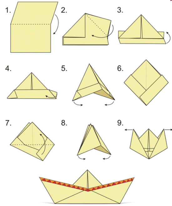 полезно, кораблик из бумаги своими руками с картинками самостоятельно делает заготовку