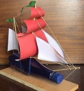 Как еще можно смоделировать кораблик из бумаги?