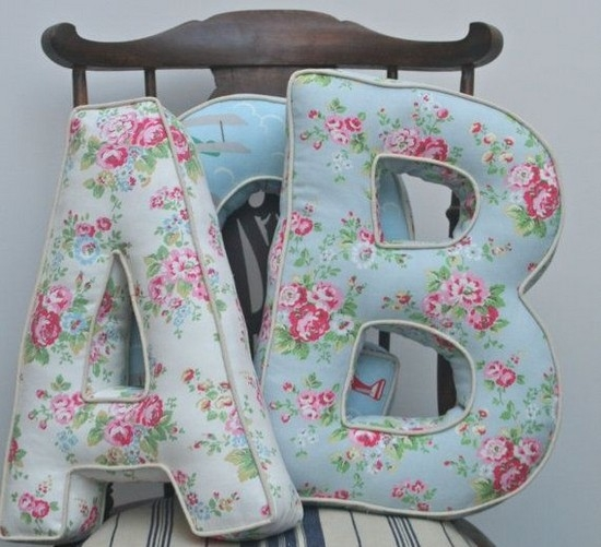 letter-pillows