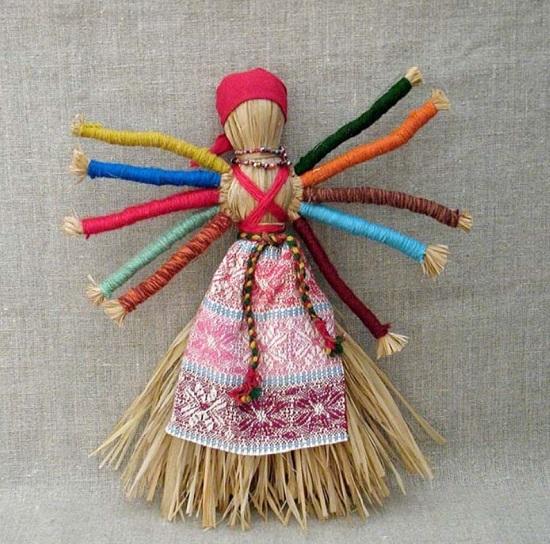 народные тряпичные куклы в