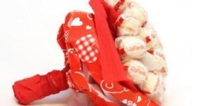 pre_fe67fe8191ae13edcf7f3f238e908805 Как сделать букет из конфет своими руками для начинающих пошагово: мастер класс, фото. Букет из конфет и гофрированной бумаги, игрушек, цветов, в корзинке с розами и тюльпанами: композиции, фото