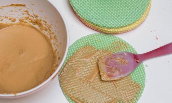 Крем для вафельного торта: виды начинок