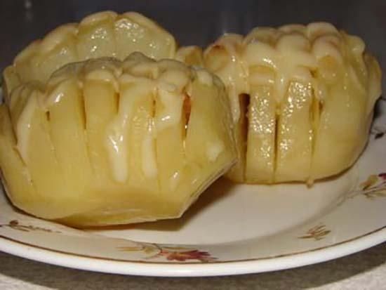 «Гармошка» с сыром