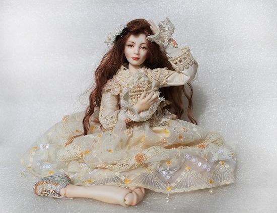 Уникальный мастер класс: шарнирная кукла