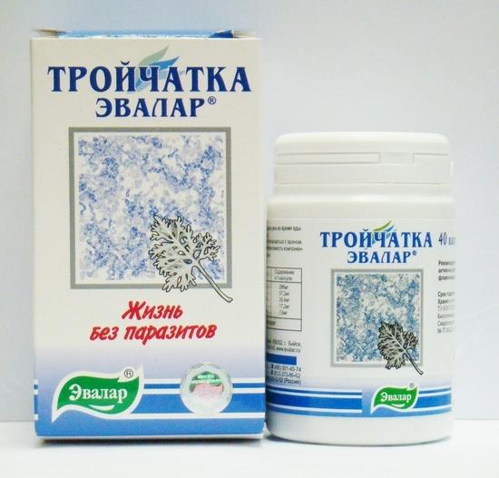 применение тройчатки от паразитов