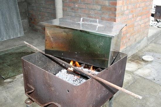 приготовление сала горячего копчения