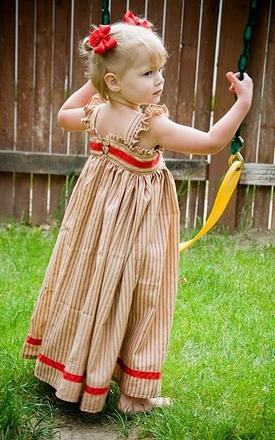 Фасоны детских сарафанов