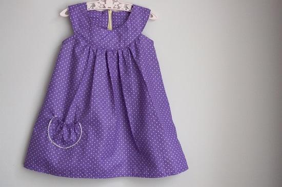 Выкройки платьев для девочек: мастер-класс