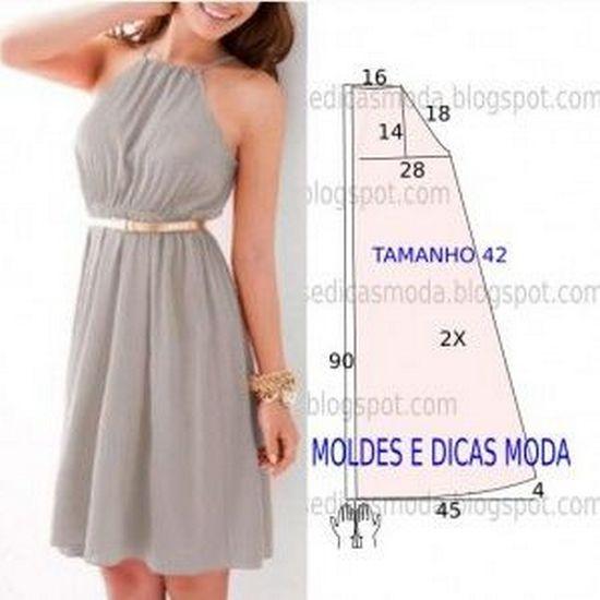 Самые простые летние платья