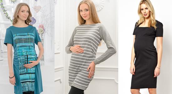 фасоны платьев для беременных