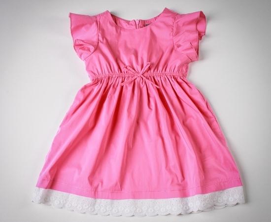 детское платье с завышенной талией