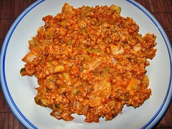Бигус со свежей капустой рецепт с фото