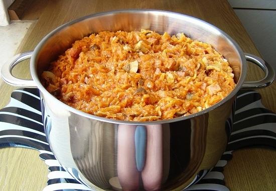 Бигус рецепт с колбасой
