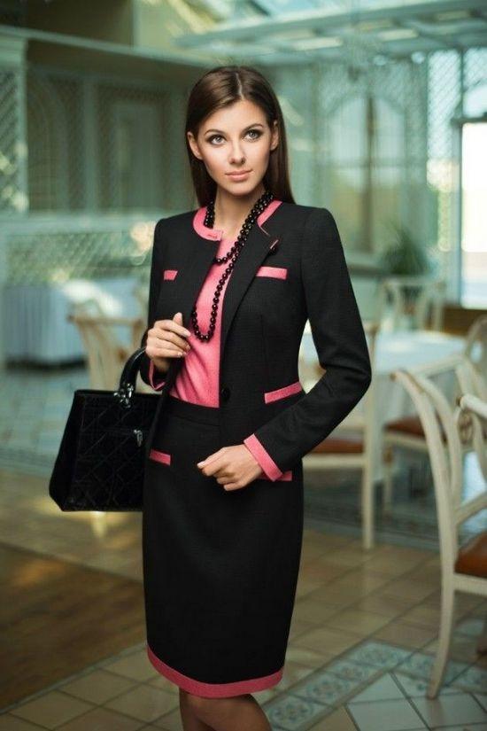 гардероб деловой леди