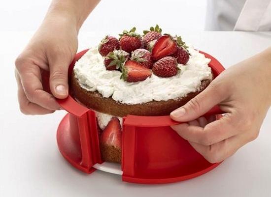Творожный десерт в разъемной силиконовой форме