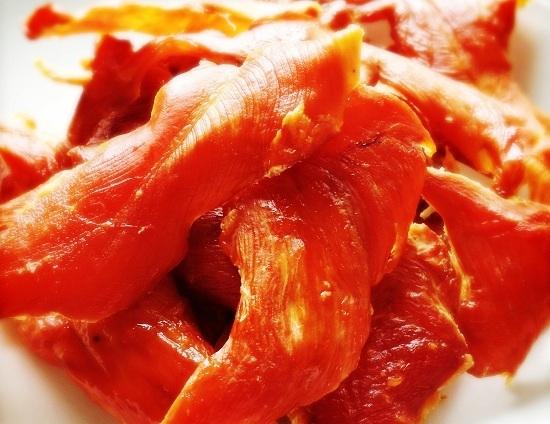 Рецепт вяленой куриной грудки в домашних условиях