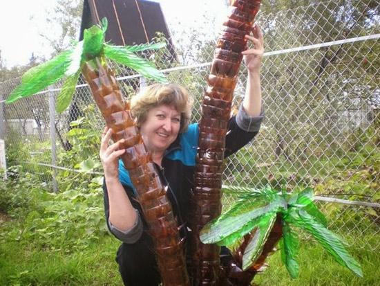 Из чего сделать пальму своими руками из