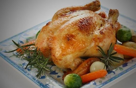 рецепт цыпленка в духовке в пакете
