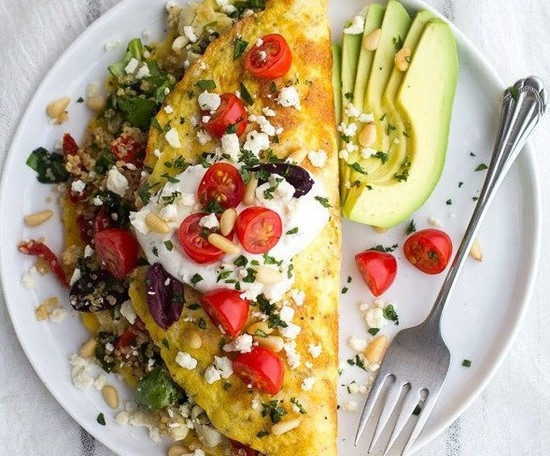 Омлет овощами рецепты