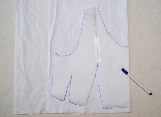 Как пошить платье-халат с запахом