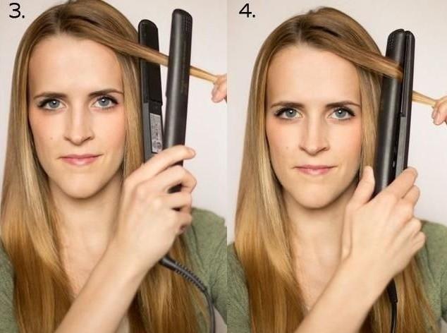 Как сделать кудри утюжком пошаговое