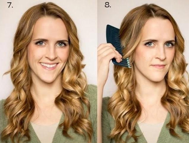 5 за Как утюжком волосы. накрутить Как завить волосы минут.