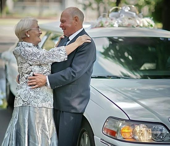 Золотая свадьба: сценарий шуточный
