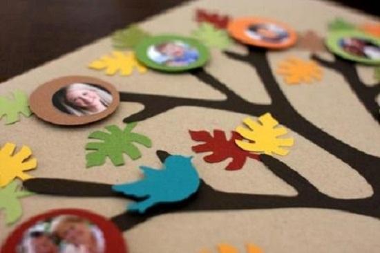 Делаем родословное древо с детьми