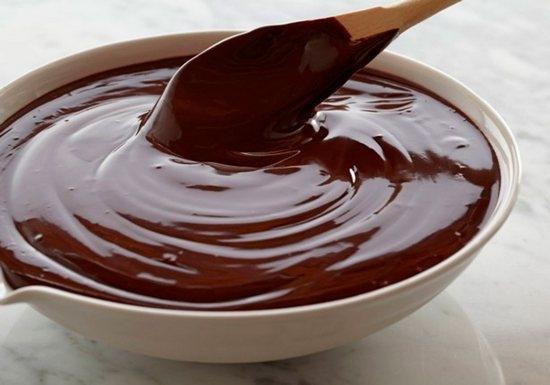 Рецепт шоколадной глазури для торта из шоколада