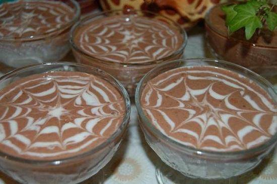 Творожное желе с какао рецепт пошагово