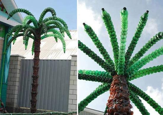 Как своими руками сделать большую пальму