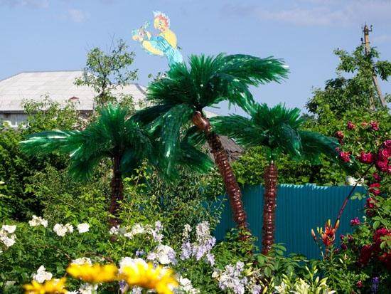 Как сделать пальму из полторашек фото 357