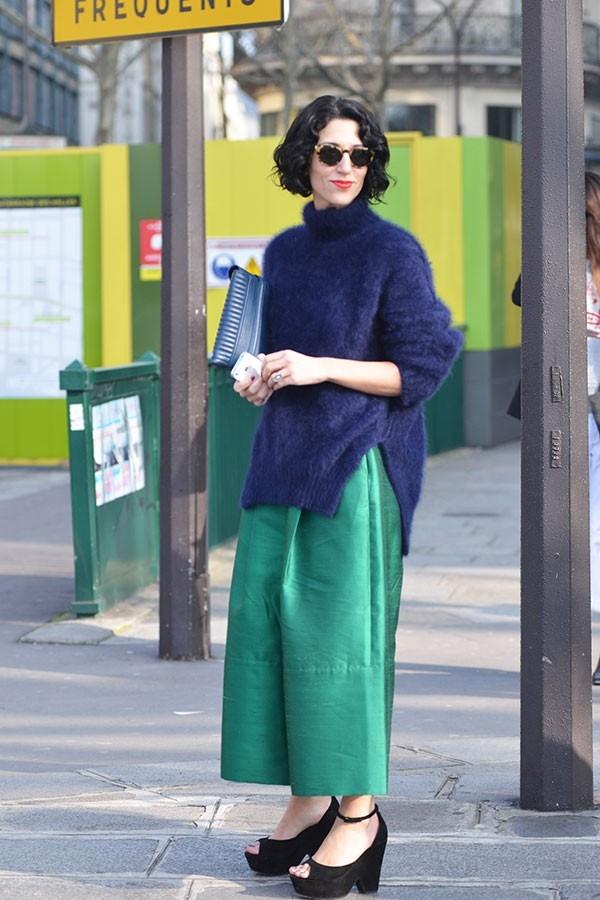 Бесформенный свитер