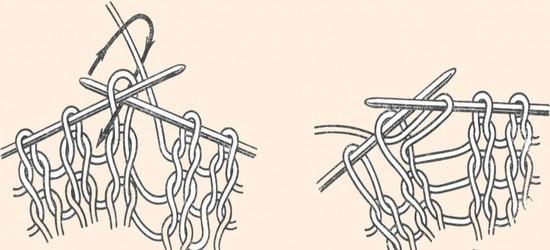 Чулочная вязка спицами