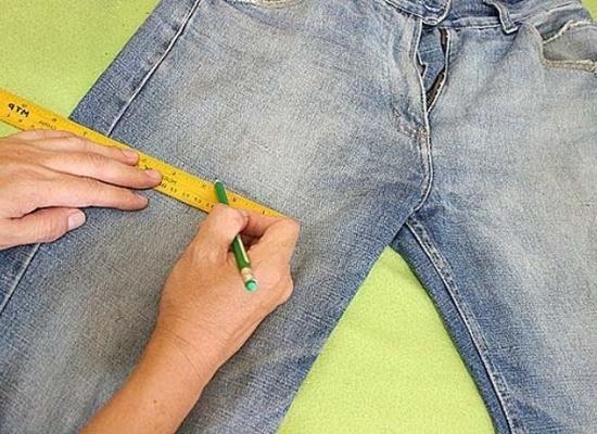 Рваные джинсы своими руками пошаговое